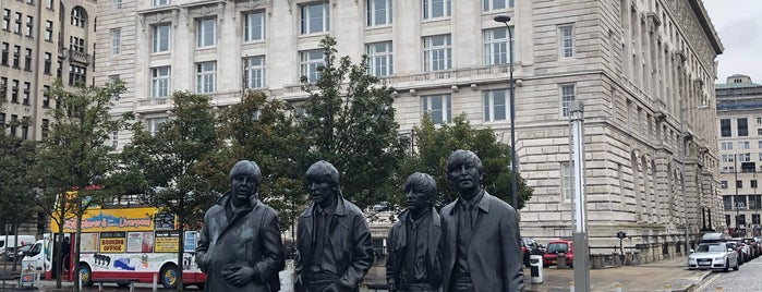 The Beatles Statue is one of Liverpool.