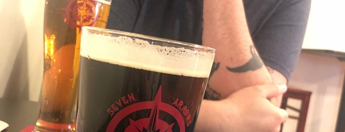 Seven Arrows Brewing Company is one of Breweries or Bust 2.
