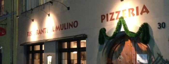Il Mulino is one of Locais curtidos por Andrea.