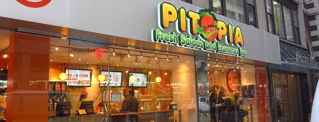 Pitopia is one of NYC Falafelgasm.