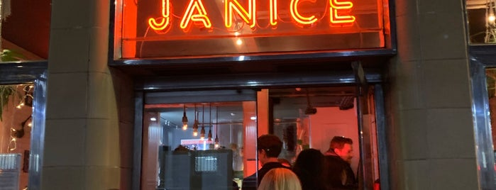 Ask For Janice is one of Bottomless Brunch in London.