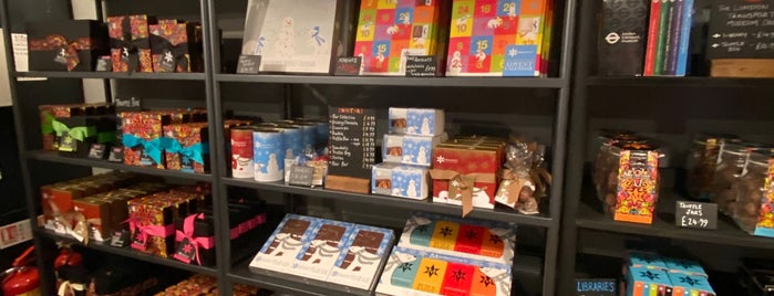 Montezuma's Chocolate is one of London's Best Chocolate Shops.