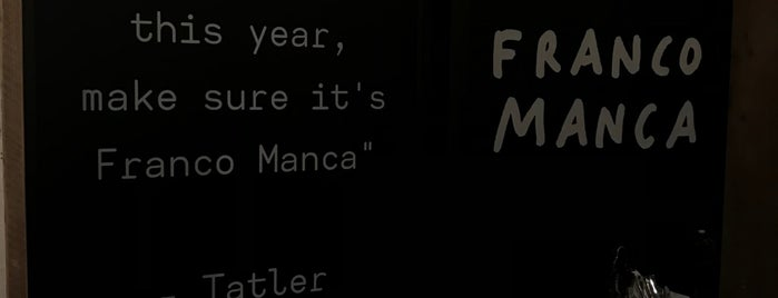 Franco Manca is one of Tristan's Saved Places.