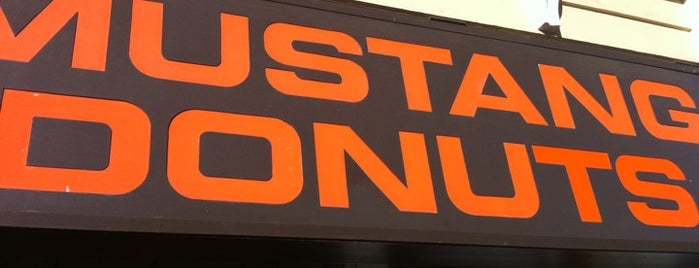 Mustang Donuts is one of DFW -More Great Food.