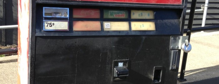 Mystery Soda Machine is one of Seattle.