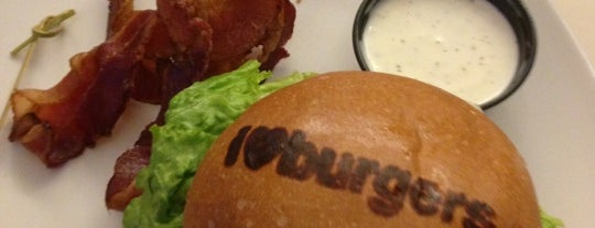 I Love Burgers is one of Vegas Places with Check-In Deals.