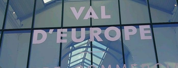 Val d'Europe is one of Samet'in Beğendiği Mekanlar.