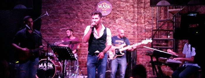Mask Live Music Club is one of Best Pub, Lounge & Bars in İstanbul.