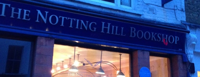 The Notting Hill Bookshop is one of London.