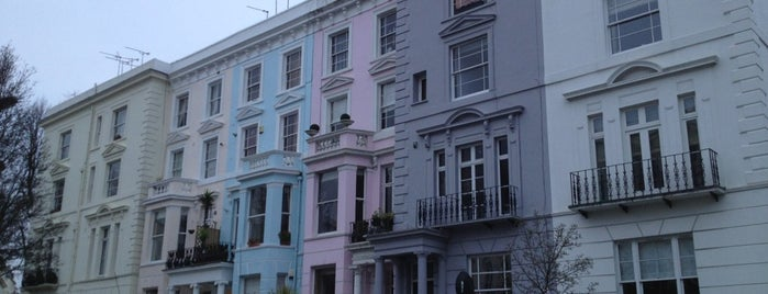 Notting Hill is one of London.