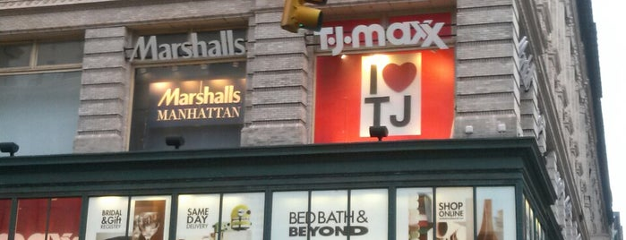 T.J. Maxx is one of New York.
