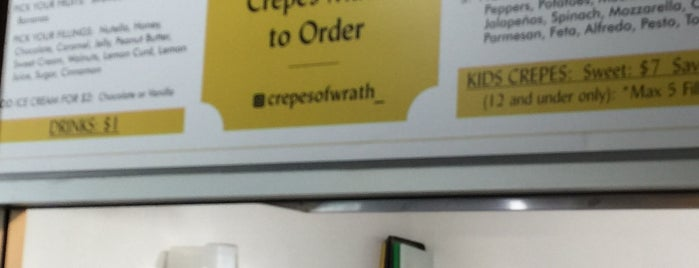 Crepes of Wrath is one of Lieux qui ont plu à Kelly.