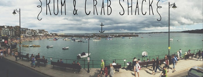 The Rum & Crab Shack is one of Cornwall.