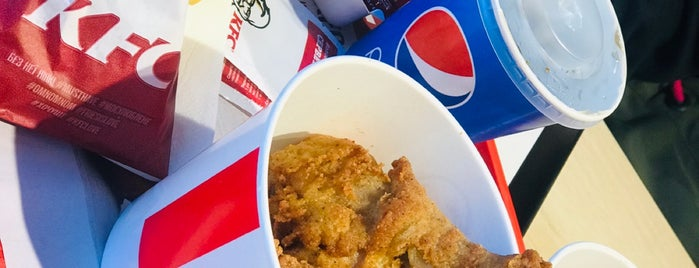 KFC is one of Anna 님이 좋아한 장소.