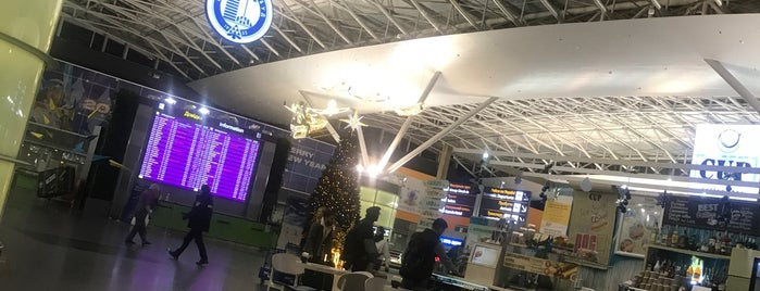Kiev Borispol Airport is one of Orte, die Murat Engin gefallen.