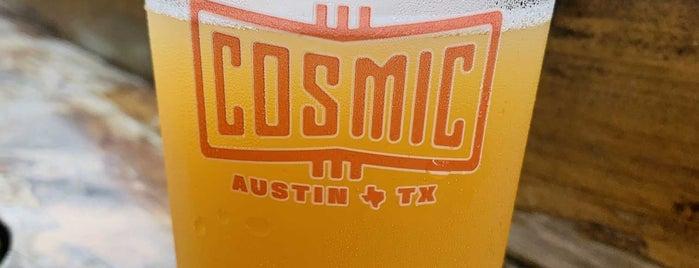 Cosmic Coffee + Beer Garden is one of Austin.