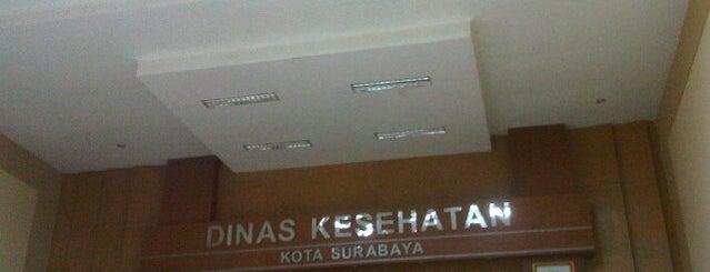 Dinas Kesehatan Kota Surabaya is one of Government of Surabaya and East Java.