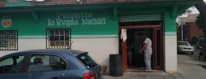 Pulqueria La Reina Xochitl is one of สถานที่ที่บันทึกไว้ของ Luis Claudio.