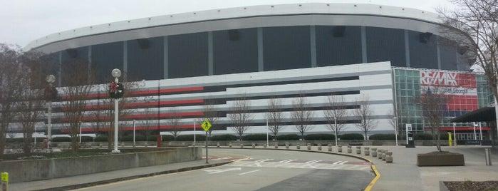 Georgia Dome is one of Estadios.