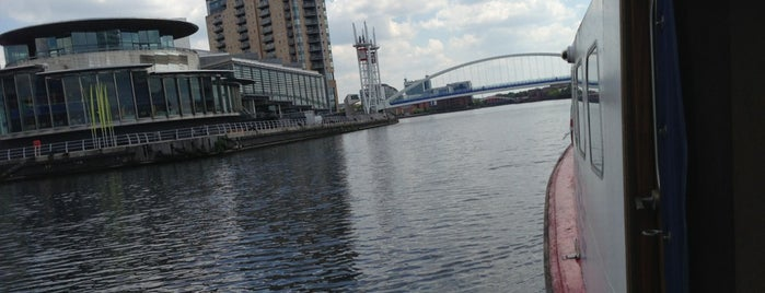 The Lowry is one of Manchester.