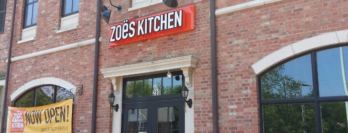 Zoës Kitchen is one of SELF's Healthy Fast Food Finds.