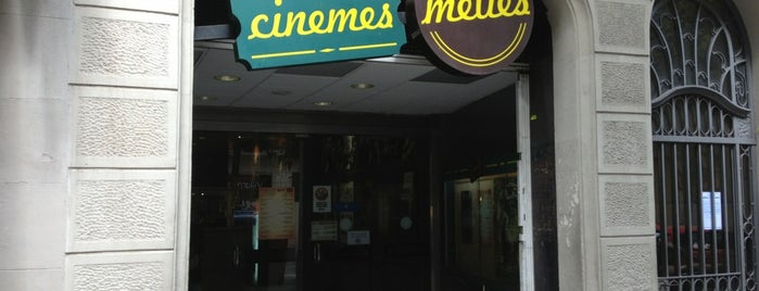 Méliès Cinemes is one of Barcelona Moderna.