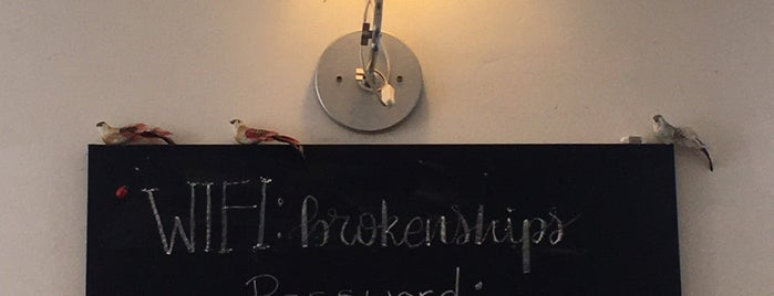 Brokenships Café is one of Hunyadi been.