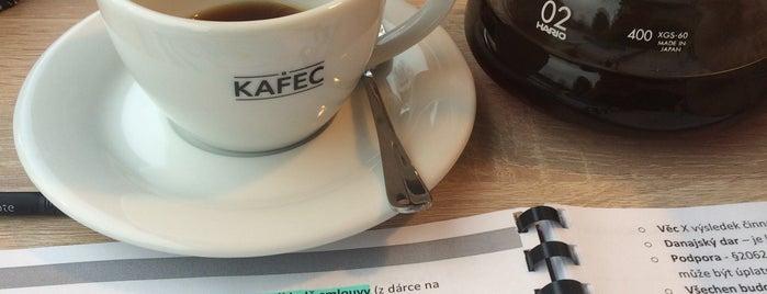 Kavárna KAFEC is one of Kde si pochutnáte na kávě doubleshot?.