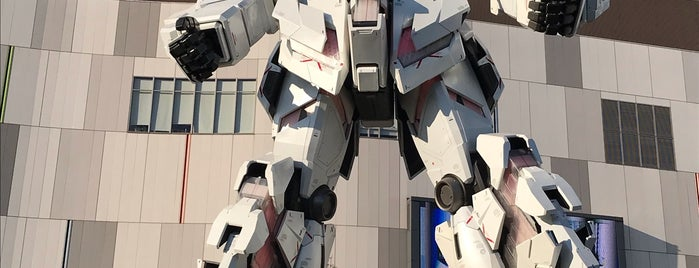 THE GUNDAM BASE TOKYO is one of JPN.