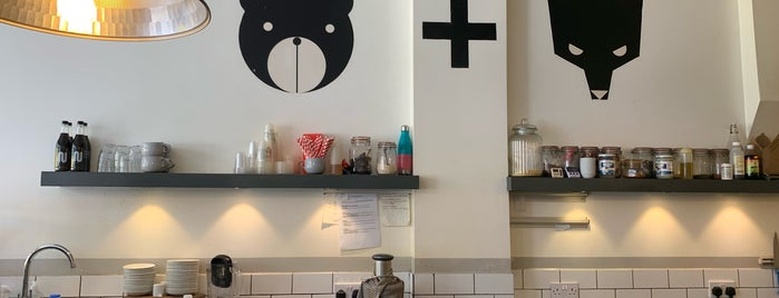 Bear + Wolf is one of 111 Coffee Shops in London.