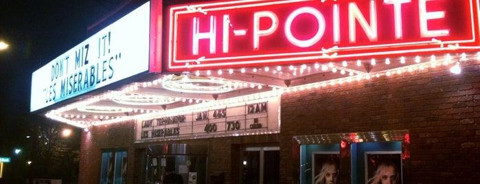 Hi-Pointe Theatre is one of Lugares favoritos de Kelly.