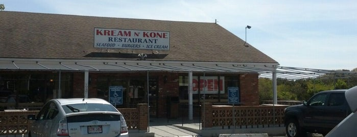 Kream 'n Kone is one of cape cod.