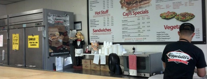 Capriotti's Sandwich Shop is one of First List to Complete.