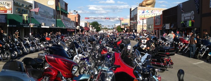 Sturgis Rally & Races is one of Places I want to go.