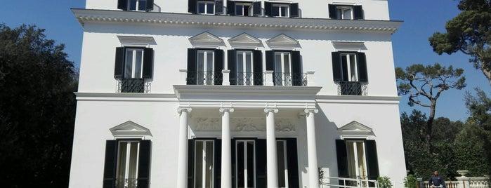 Villa Rosebery is one of Italy (Roma, Napoli).