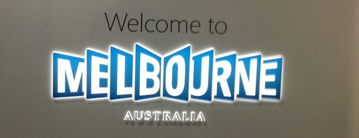 Melbourne Airport (MEL) is one of Airports Visited.