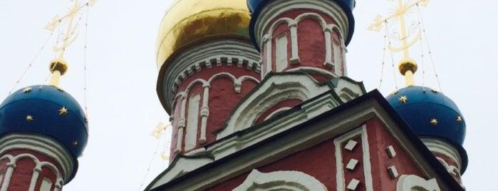 Храм Успения Пресвятой Богородицы в Гончарах is one of Православные церкви на Таганке.