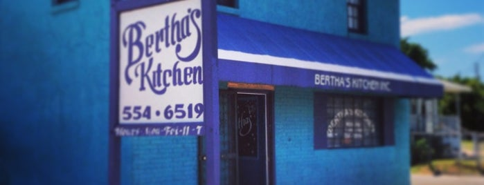 Bertha's Restaurant is one of Charleston.