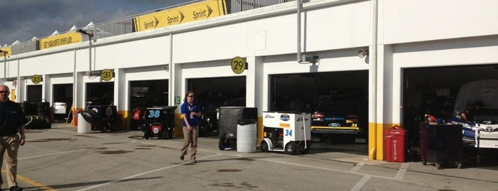 Sprint Cup Garage is one of Lieux qui ont plu à Mark.