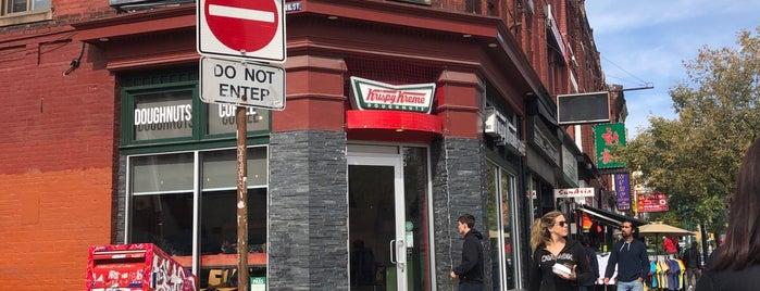 Krispy Kreme Doughnuts is one of Posti che sono piaciuti a Ethan.