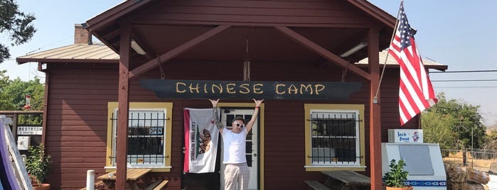 Chinese Camp Store Kiwi Tavern is one of Lugares favoritos de QQ.