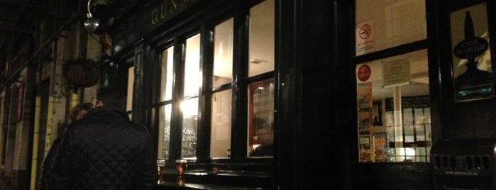 The Gunmakers is one of London's Best Pubs (voted by Londonist readers).