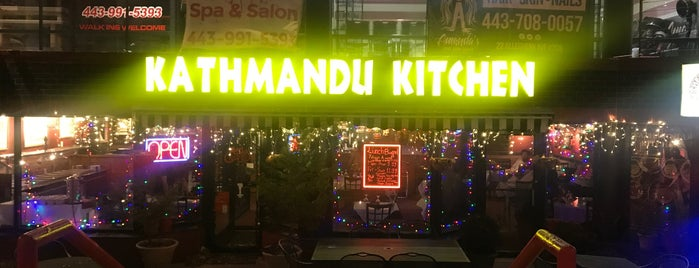 Kathmandu Kitchen is one of Favorite Eating Spots.