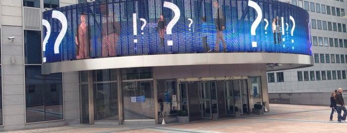Parlamentarium is one of Hello, Brussels.