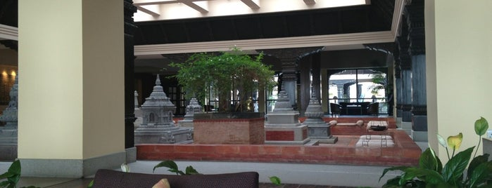 The Cafe @ Hyatt Regency (Kathmandu) is one of Yeti Trail Adventure.