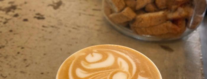 Velvette Brew is one of Coffee, Tea + Treats.