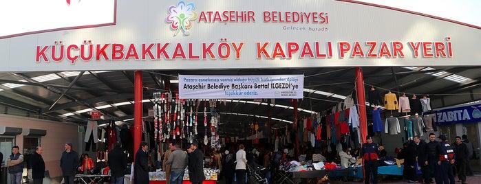 Küçükbakkalköy Kapalı Pazar Yeri is one of Tempat yang Disukai Ferid.