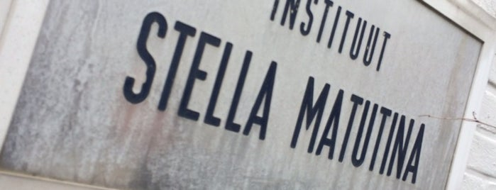 Instituut Stella Matutina is one of Tempat yang Disukai Gordon.