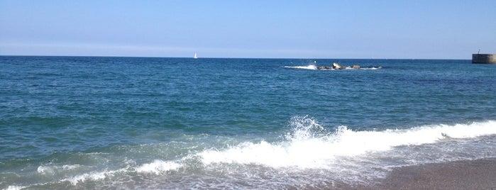 Praia do Litoral is one of Playas de España: Cataluña.