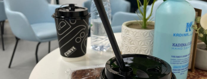 Curve Roastery is one of Coffee Places / Riyadh.